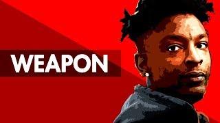 """WEAPON"" Dark Trap Beat Instrumental 2017 | Hard Sad Rap Hiphop Freestyle Trap Type Beat | Free DL"