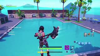 How to make a swimming pool in fortnite creative!