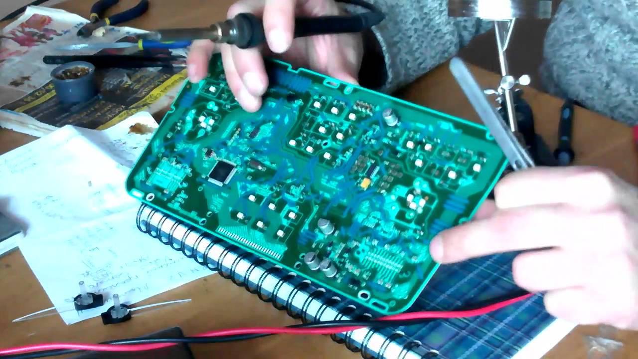 Программирование приборной панели, корректировка скорости спидометра. Инженер Петров, rk50.ru