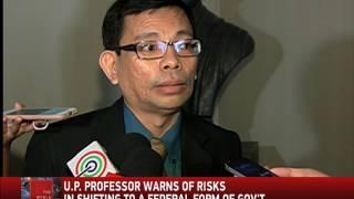 U.P. professor warns of federalism risks