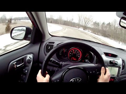 Kia Forte 5 Sx >> 2013 Kia Forte 5-Door SX - WR TV POV Test Drive - YouTube