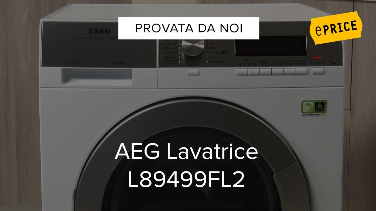 Video Recensione Lavatrice AEG L89499FL2 - YouTube