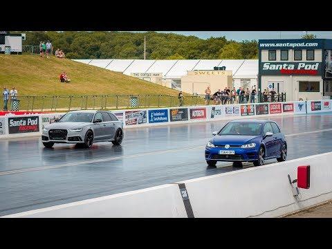 ** LLF RACE WARS** 600BHP Golf R VS 2018 Audi RS6
