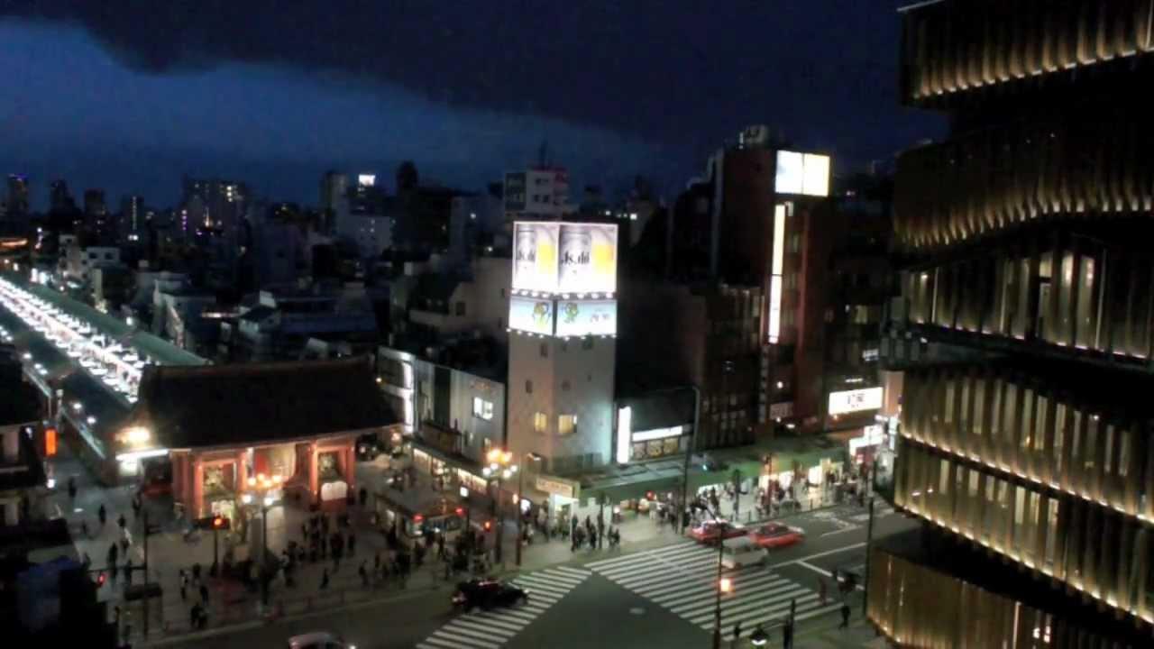 新建築2012年5月號「淺草文化観光センター」隈研吾建築都市設計事務所 - YouTube