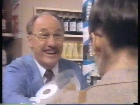 1984 Charmin Toilet Paper Commercial Featuring Mr Whipple