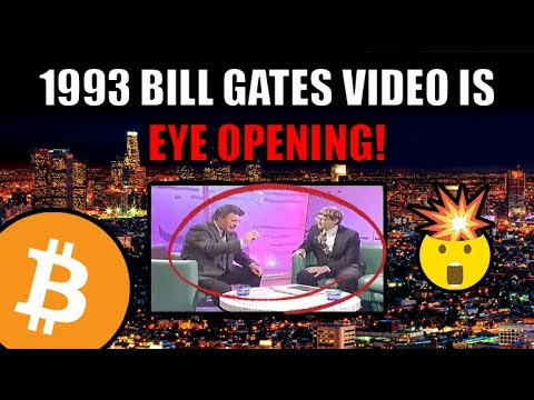 27 Years Ago! This Bill Gates Interview Says EVERYTHING About Where We Are Today With Bitcoin.