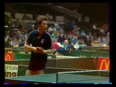 Table Tennis. European Championships-1986. USSR-SWEDEN