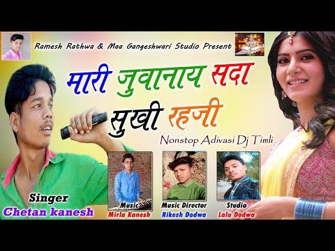 Mari Juwanay Sada Sukhi Rahji   Chetan Kanesh   New Nonstop Adivasi DJ Timli Song 2018