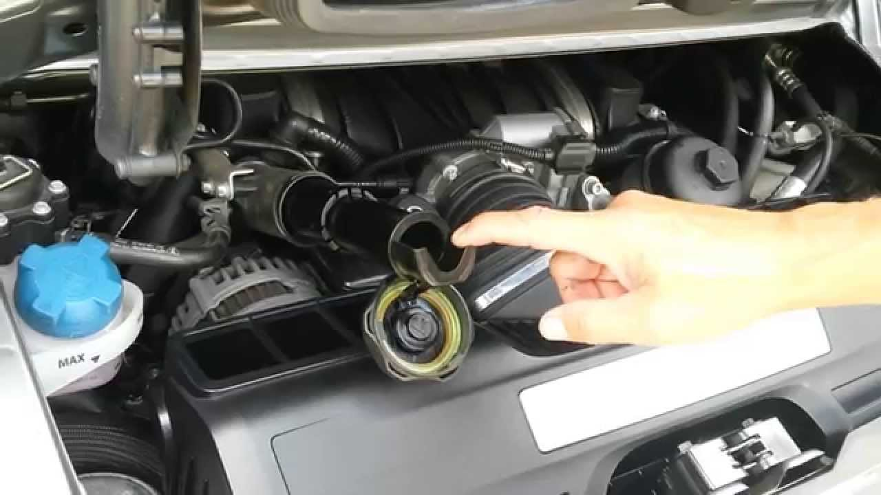 2009 Porsche 911 Carrera 4S Oil Change 997 (9972)  YouTube