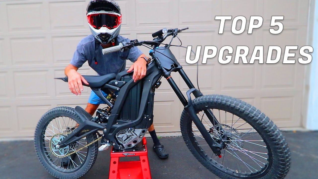 What Every SUR RON X E Bike NEEDS! Top 5 Upgrades