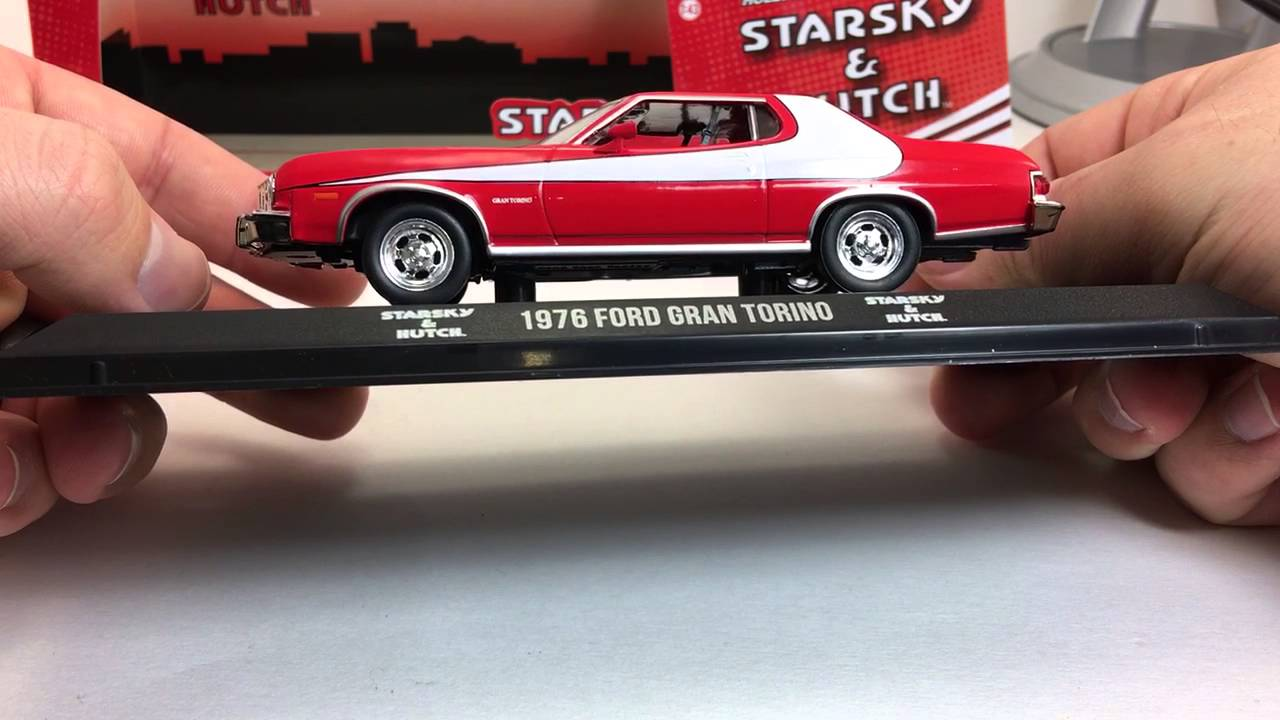 Greenlight Hollywood Starsky And Hutch 1 43 Ford Gran