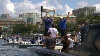 Tampa Bay Lightning championship boat parade: Live coverage