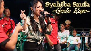 Syahiba Saufa [live] Gede Roso - RAXZASA MUSIC || Patung Pacul Bersatu