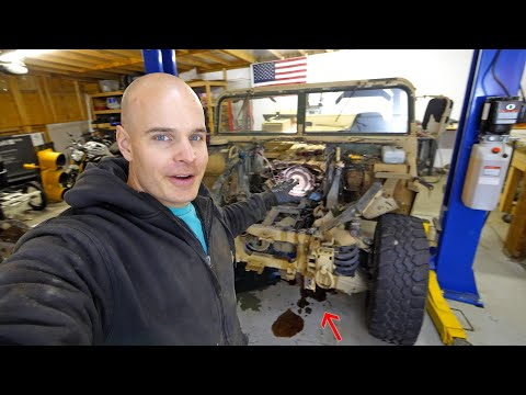 How to build an Electric Hummer? Step One – TEARDOWN!