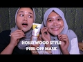 Hollywood Style Peel Off Mask | First Impression & Review | MakeupbyFatya