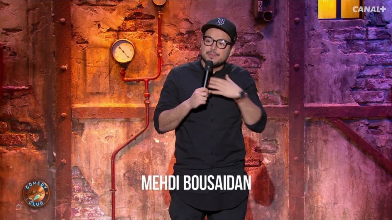 Mehdi Bousaidan au Jamel Comedy Club