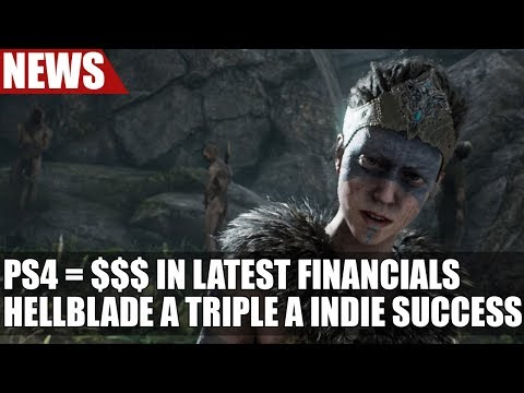 "PS4 Continues to Sell Very Well in Sony's Latest Financials | Hellblade A ""Triple A Indie Success"""