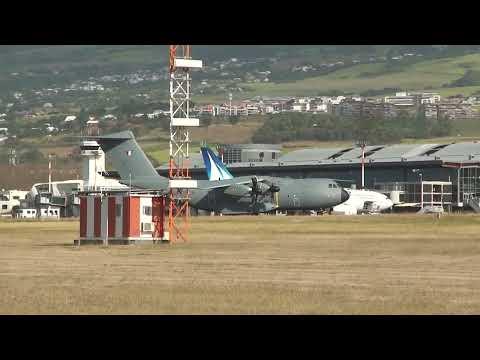 Airbus A400M Atlas à la Réunion Aéroport Roland Garros,DA181