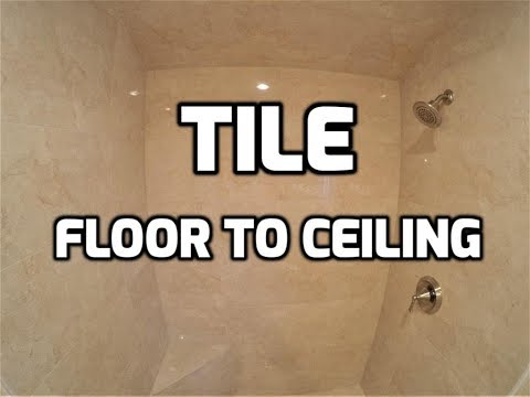 Bath & Shower Tile Ideas EP 18 Shower Tile Floor to Ceiling