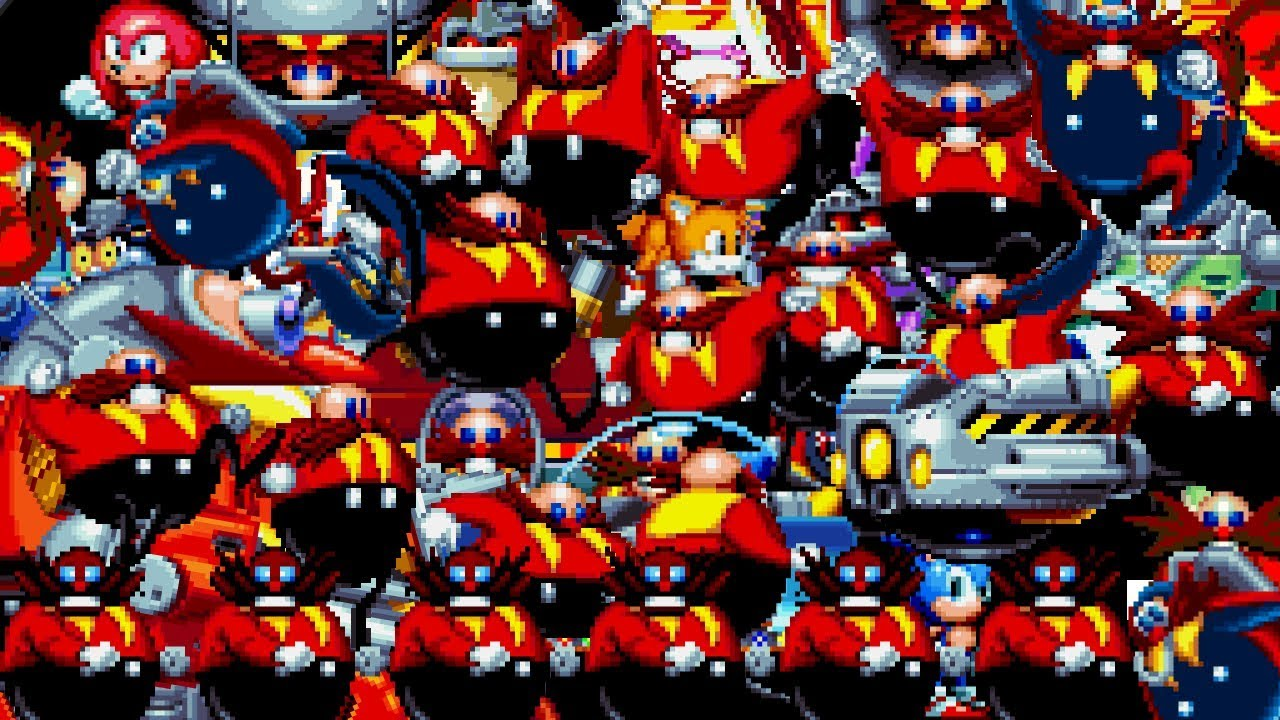 Eggman Boss Calamity Sonic Mania Edition Youtube