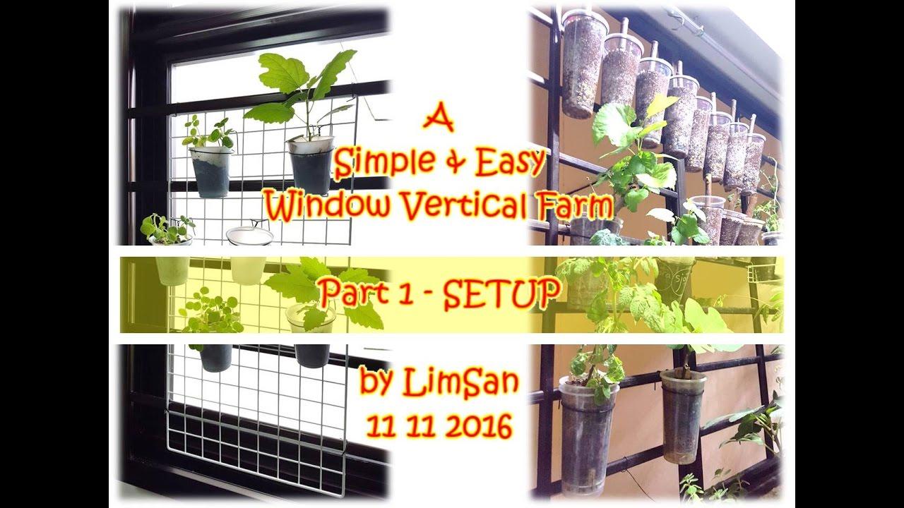 Vertical Garden Window Farm | Gardening: Flower and Vegetables