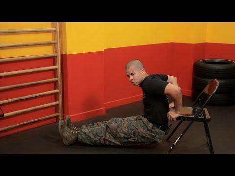Basic Chair Exercises | Warrior Fitness