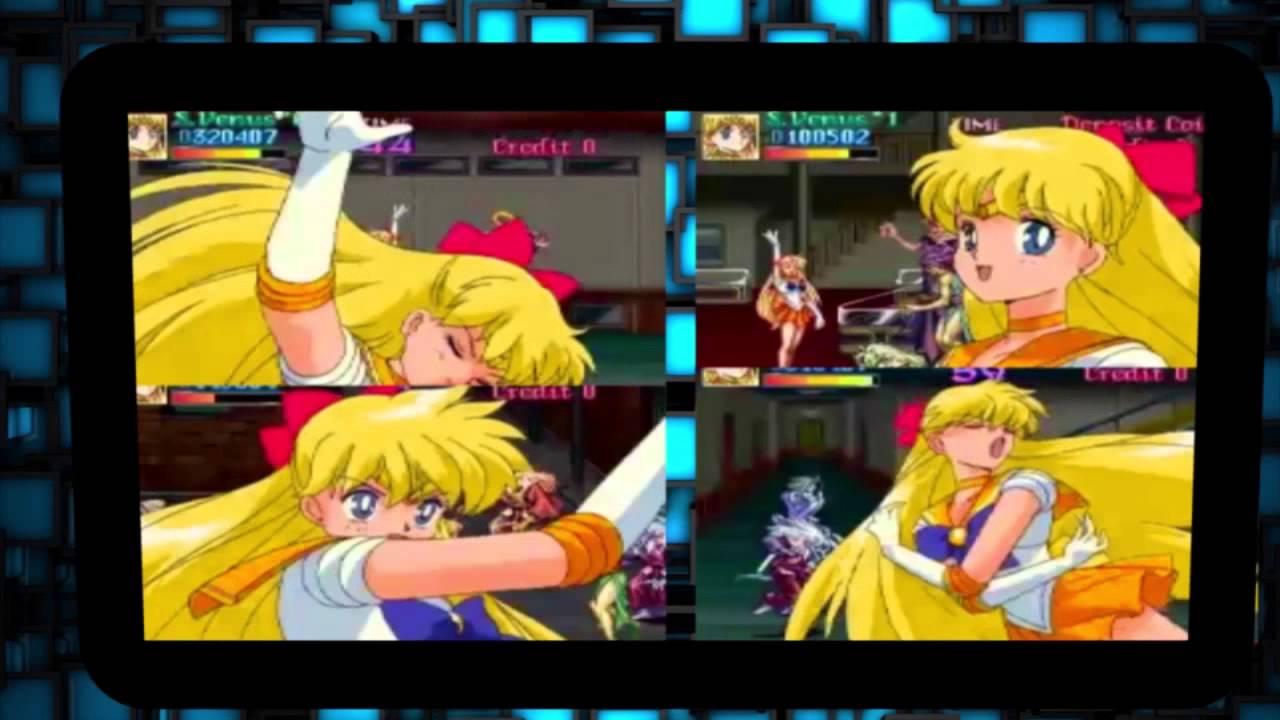 La Presencia De Sailor Moon En Los Videojuegos Hd