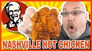 KFC  Nashville HOT Chicken  Review in Niagara Falls USA