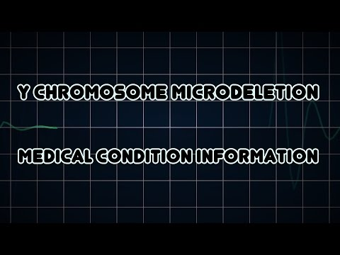 Y chromosome microdeletion (Medical Condition)
