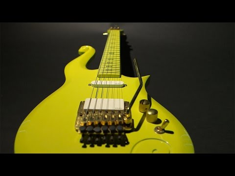 Prince Owned and Played Custom Yellow Cloud Guitar Up for Auction