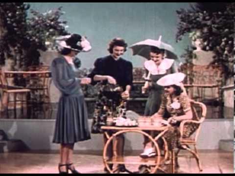 Fashion und Modewerbung aus dem Jahr 1940