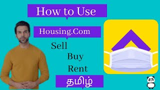 How to Use Housing Real Estate App | Buy, Rent & Sell Property  | Explanation in tami.. screenshot 1