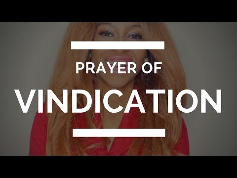 PRAYER OF VINDICATION