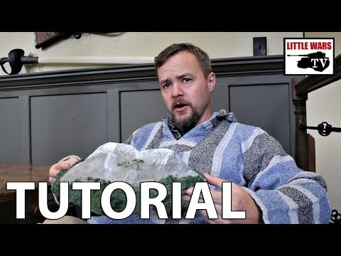How to Make Model Mountains