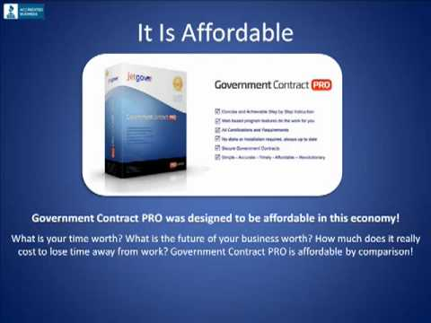 Government Contract PRO from JetGov.com