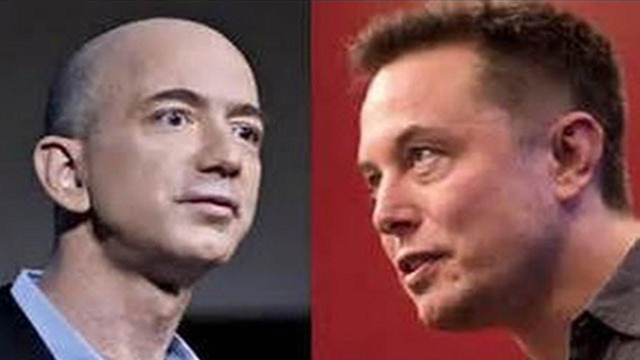 Elon Musk Completely Destroys Jeff Bezos Youtube