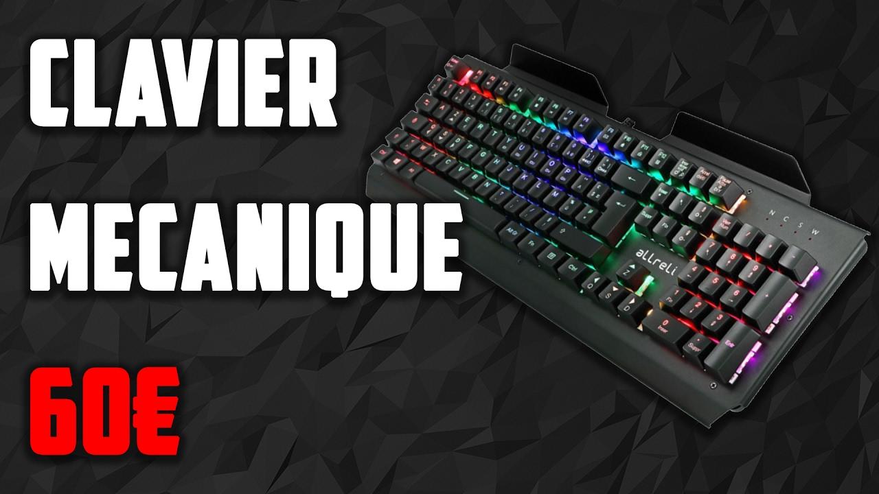 un clavier mecanique gamer pas cher 60 euros youtube