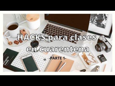 HACKS PARA CLASES/como