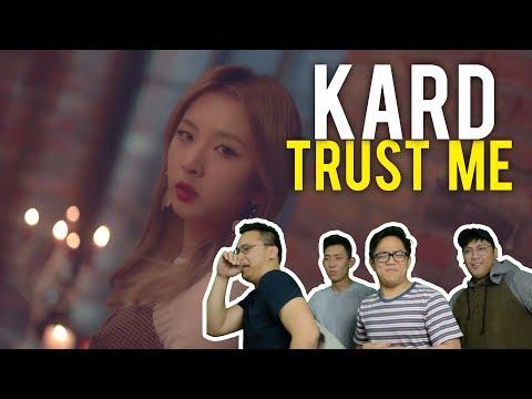 "KARD ""TRUST ME"" (MV Reaction)"
