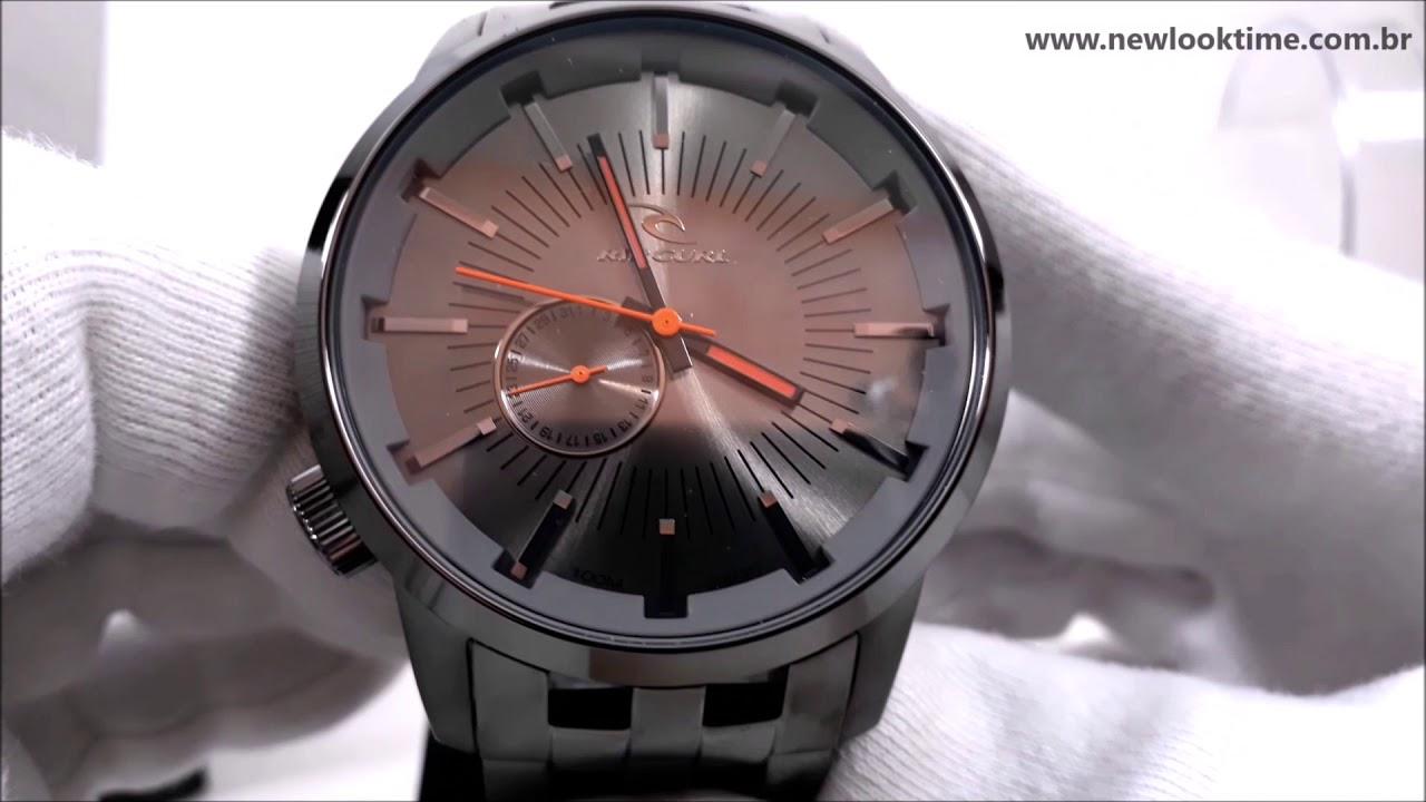 e6f46f69d9d Relógio Rip Curl Detroit Original A2548 36 - NLTime Relógios - YouTube