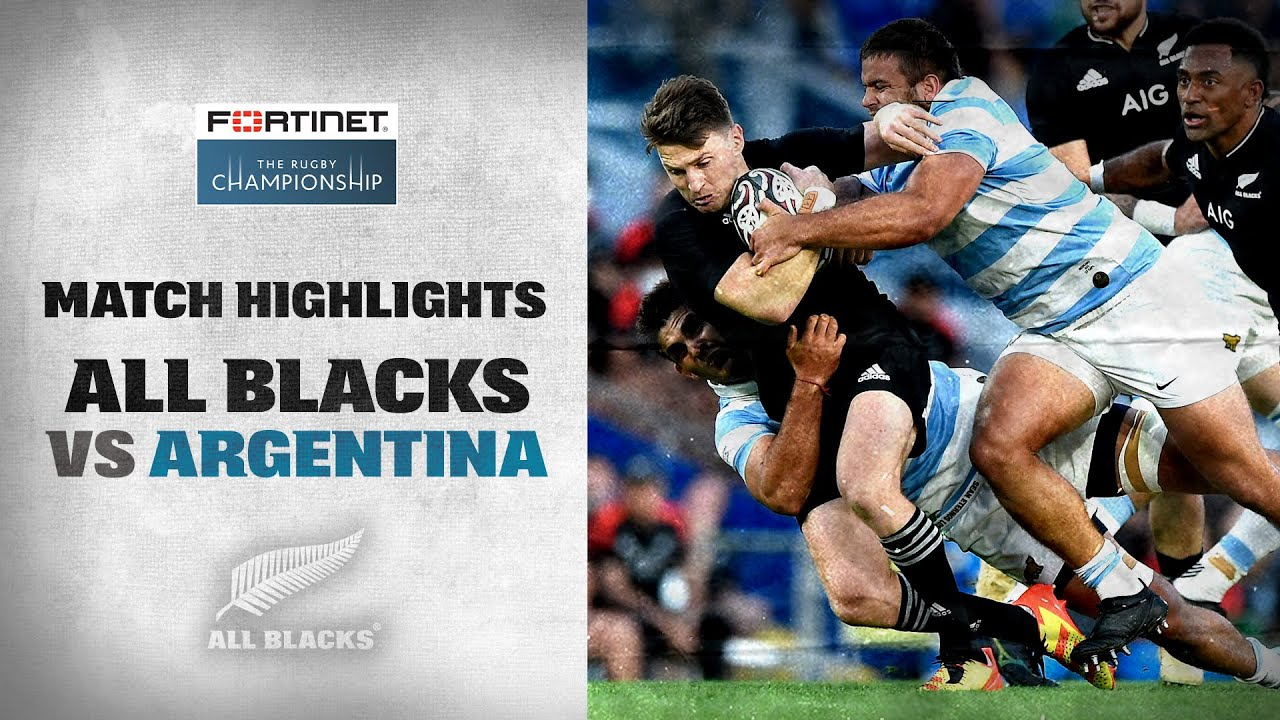 The Rugby Championship 2021: New Zealand All Blacks vs Argentina (Gold Coast)