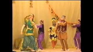 Main sasural nahi jaungi, Indian dance group Mayuri, Russia