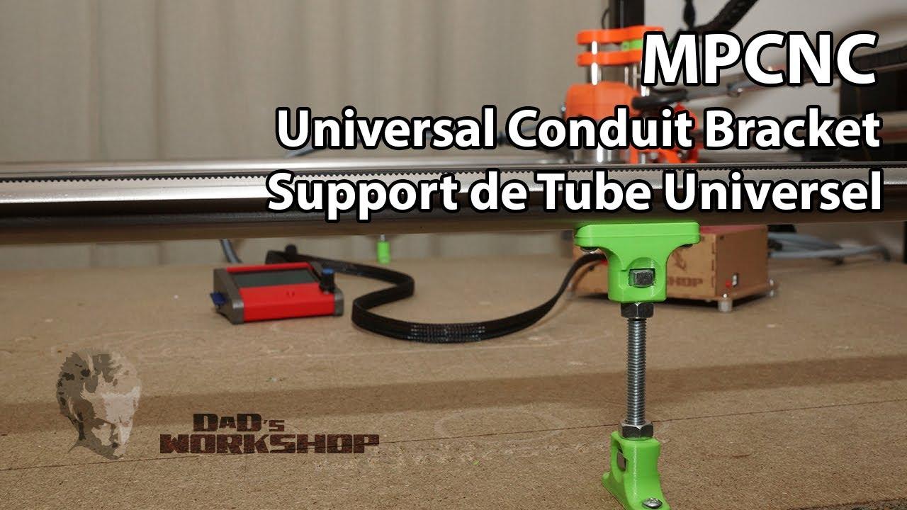 MPCNC Support Universels pour Tubes dépassants 80cm [FR-EN-US]