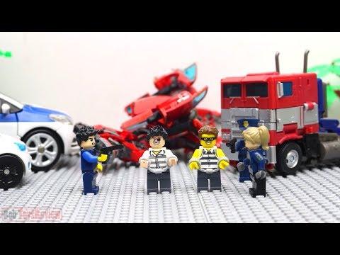 Лего мультфильм трансформеры