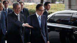 Экс-президента Южной Кореи допросили по делу о коррупции