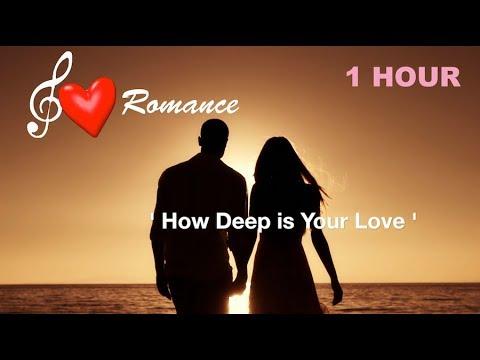 Romantic Saxophone Music Instrumental: 'How Deep is Your Love' (saxophone instrumental love songs)