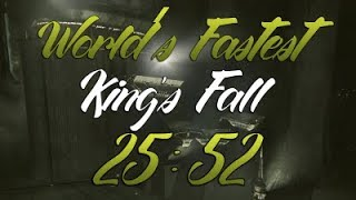 King's Fall World Record Speedrun!!! [25:52]