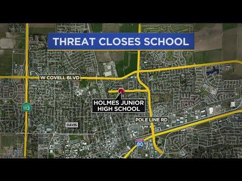 Reported Gun Threat Closes Middle School In Davis