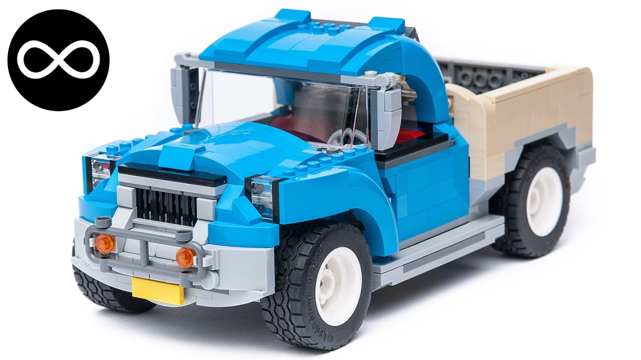 Lego Creator 10252 Pick Up Truck Alternate Moc Youtube