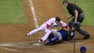 MLB Home Plate Collisions